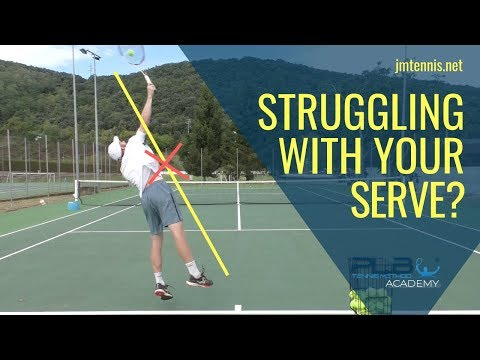 Tennis Serve: How To Master Your Serve? I JM Tennis - Online