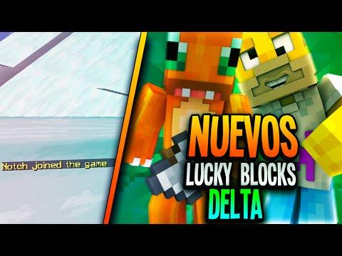 NOTCH SE UNE A LA PARTIDA! NUEVOS LUCKY BLOCKS DELTA!! Minecraft con Kiron