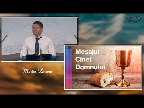 Marius Livanu    Mesajul Cinei Domnului