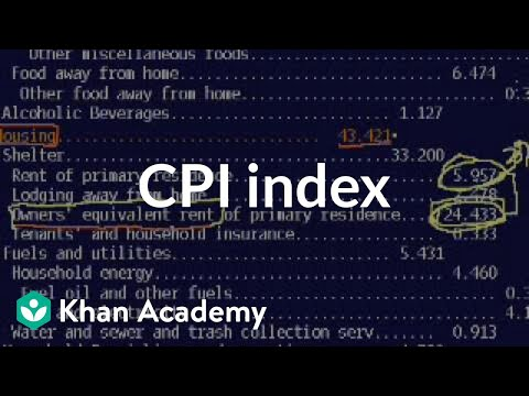 CPI index | Inflation | Finance & Capital Markets | Khan Academy
