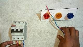 3 phase Indication बिना neutral के  working l YK Electrical
