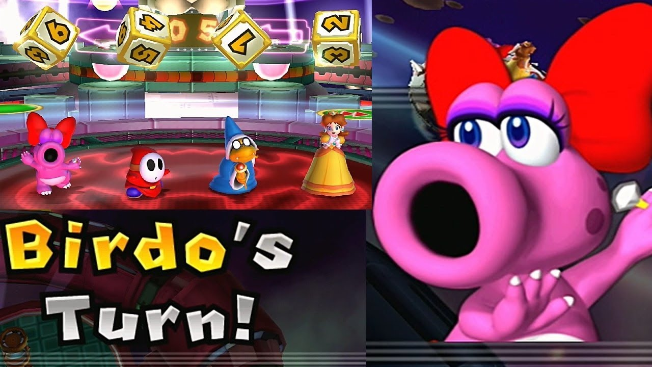 Mario Party 9 Solo Mode 194 Birdo Teammate Is Daisy Bowser