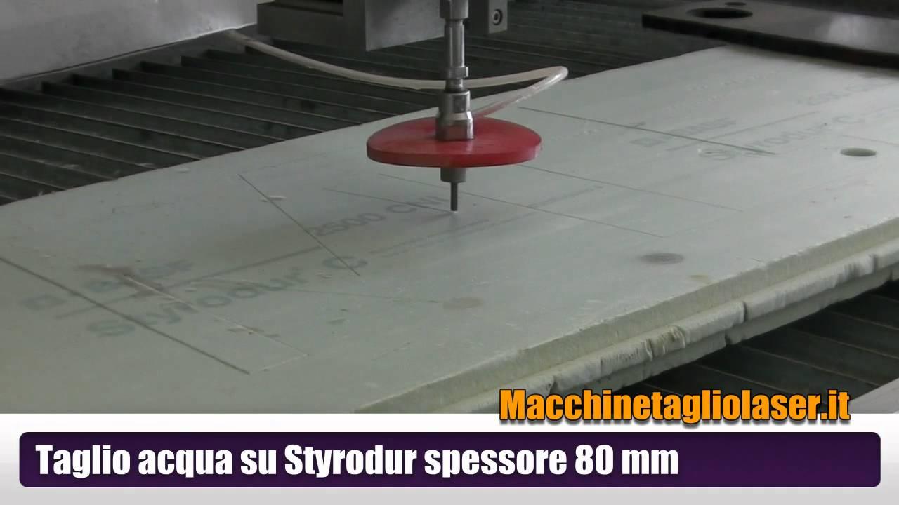 waterjet taglio ad acqua isolante styrodur 80 mm youtube. Black Bedroom Furniture Sets. Home Design Ideas
