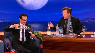 Water Sommelier Martin Riese Interviewed by Conan O'Brian Part 2