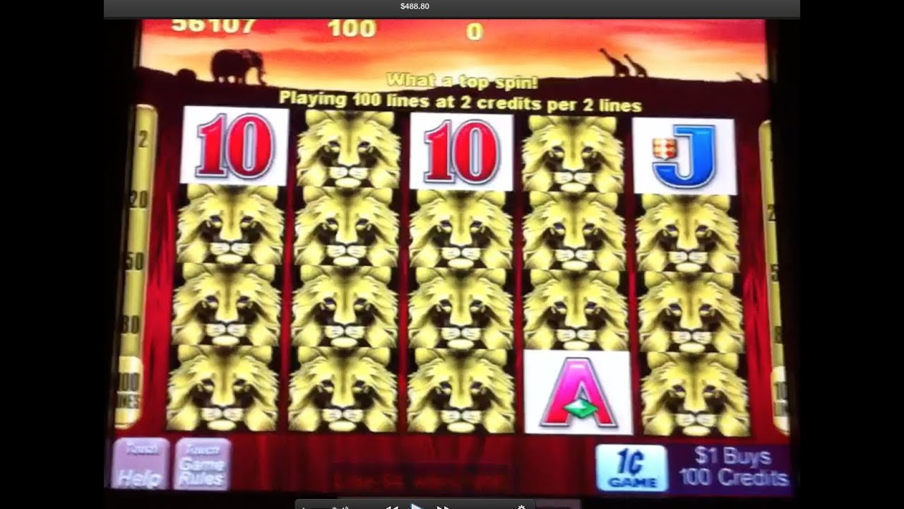 100 lions slot machine 888 poker venues brisbane