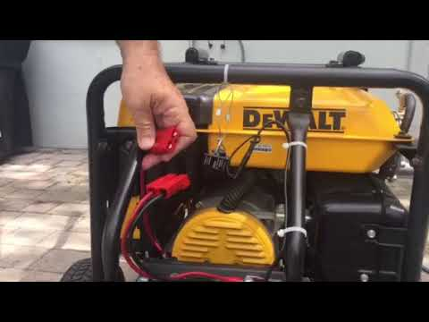 I hooked my portable generator to natural gas
