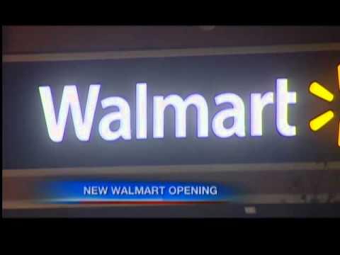 Walmart store opens in North Tonawanda