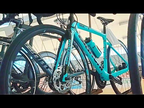 จักรยานเสือหมอบแบรนด์ดังๆ Bianchi ลดเย๊อะจัง / เสือภูเขา ไฮบริด ลด4050% @VS Bike บางรักน้อย นนทบุรี