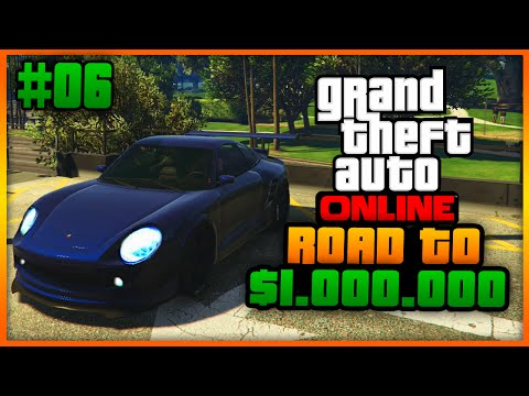 """GTA5 - Road To $1.000.000 #6 """"HIGH PRIORITY AUTO!"""" (Grand Theft Auto Online)"""