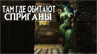 Skyrim МЕСТА ОБИТАНИЯ СПРИГАНОВ (Ремонт в стиле Телванни)