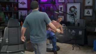 GTA 5 - Lazlow Funny Torture Scene (HD)