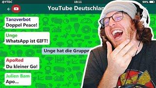 Unge reagiert auf YouTuber in einer WhatsApp Gruppe!