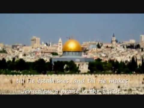 On your walls O Jerusalem(with lyrics)