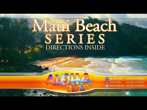 Maui's Best Beaches : Koki Beach Hana, Maui Hawaii