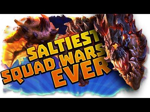 SALTIEST SQUADWARS EVER! - SLOTH VS SAMB - Trick2G