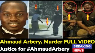Ahmaud Arbery Murder Full Video, Black Man Killed In Brunswick, Georgia By 2 White Men