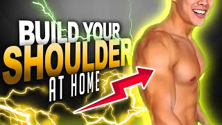 How To Build A Bigger Shoulder At Home