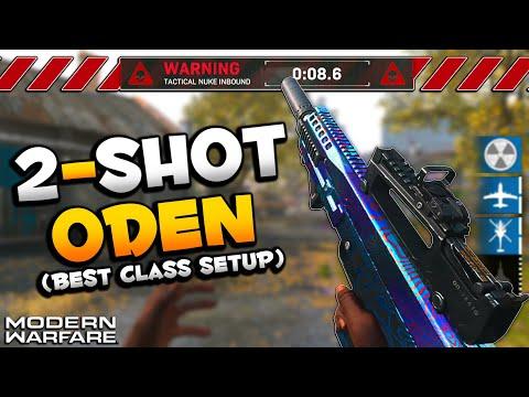 Insanely Powerful Oden Best Class Setup   Modern Warfare Nuke Gameplay - YouTube