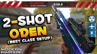 Insanely Powerful Oden Best Class Setup | Modern Warfare Nuke Gameplay