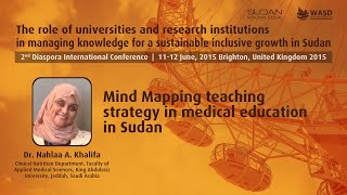 Mind Mapping teaching strategy in medical education in Sudan