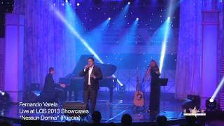 "Live On Stage Exclusive!  Fernando Varela Performs ""Nessun Dorma"""