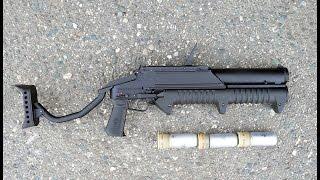 Ручной многозарядный гранатомет ГМ-94. Фотообзор.