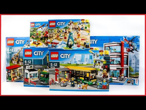 COMPILATION LEGO CITY TOWN