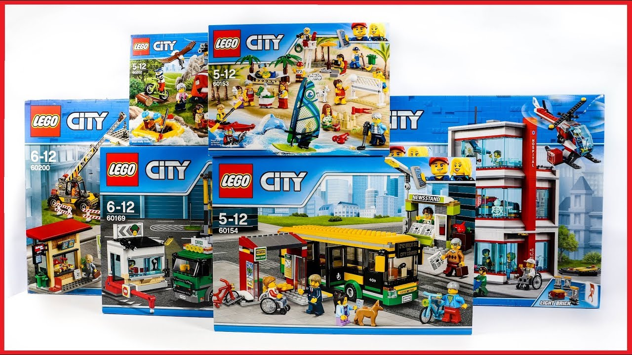 Compilation Lego City Town Youtube