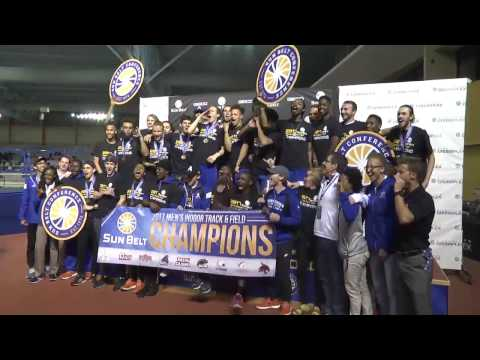 2017 Sun Belt Conference Men's Indoor Track and Field Championship Recap