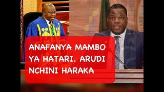 Spika Ndugai: Masele Arudi Nchini Haraka | Anafanya Mambo ya Hatari