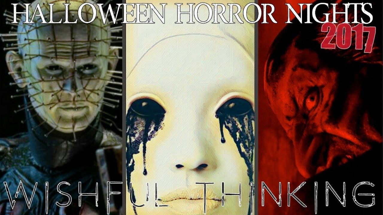 Halloween Horror Nights 2017 Wishful Thinking! - YouTube