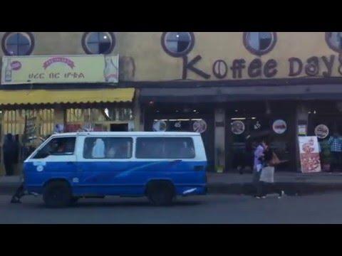 Addis Abeba by minibus