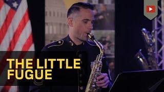 "Bach ""Little"" Fugue in G Minor, BMV 578 - Saxophone Quartet"