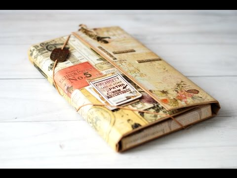 Tutorial Carpeta Travel Book / Portfolio