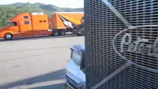 Volvo 770, Peterbilt 379 With Megasleepers
