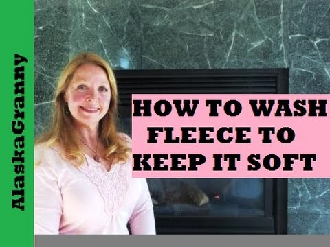 How To Wash Fleece To Keep It Soft