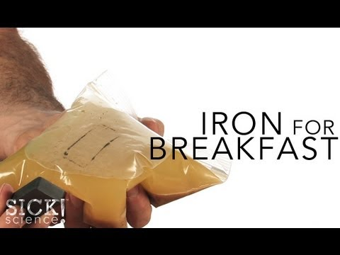 Iron for Breakfast - Sick Science! # 123
