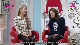 [ENG SUB] [140108] Moon Hee Jun's Pure 15 - Dal★Shabet Woohee & Subin