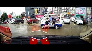 horrible car crash, terrible traffic accident clips 20170616 in Chinese, Update everyday