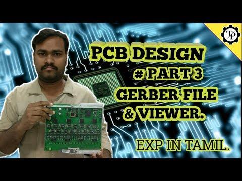 GERBER FILE GENERATION AND GERBER VIEWER  PART 3  TECH PRABU   EXP IN TAMIL