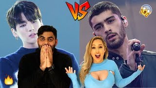 JUNGKOOK VS ZAYN [VOCAL BATTLE] REACTION!🔥