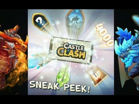 Castle Clash Sneak Peek Plus Update Info!
