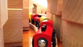Bridge Or Tunnel? Huge Kids Train Set - Toy Train Track 24