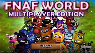 FNaF World Multiplayer Сильные Атаки