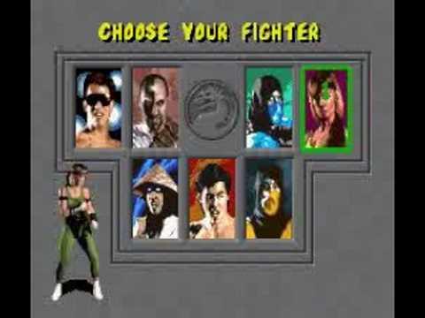 Image Result For Mortal Kombat Select