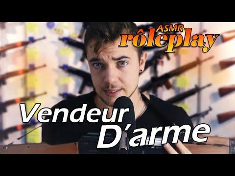 ASMR fr : Vendeur d'arme 🪓🔪