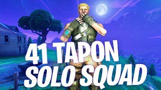41 KILLS - SOLO VS SQUAD - SEASON 8 (Fortnite Battle Royale)