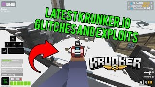 Krunker Map Exploits and Glitches (Working)