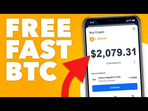 How To Earn FREE BITCOIN Fast And Easy In 2021 (NEW METHOD)