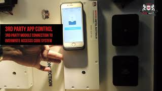 WEIDER - WDEL-9800 & WDEL-983 MECHANTRONIC DIGTIAL PUSH & PULL DOOR LOCK - AUTOMATION INTEGRATION